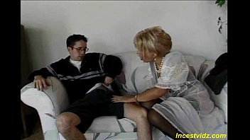 Young Son Banged Sweet Ass  Her Beautiful Mom  In Different Positions