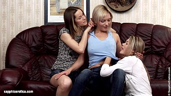 Naughty Trio Ivanka Ashlie and Brea finger each other on Sapphic Erotica Thumb