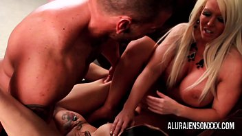 Alura Jenson teaching Tya Quinn how to properly fuck