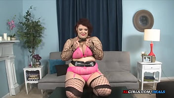 a young chubby girl with massive tits