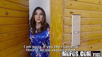 Mofos - Latina Sex Tapes - Spanish Babe Seduces Salesman starring  Juan Lucho and Jimena Lago