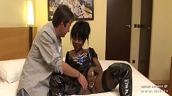 Cluadia black nude - Big boobed french black hard analyzed with cum to mouth in a hotel room