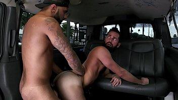 Ways of gays love making - Bait bus - bearded gay stud rich kelly makes love to rikk york in a van