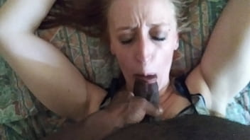 Me beating my dick on a white hoe for not knowing how to suck dick(She a biter)