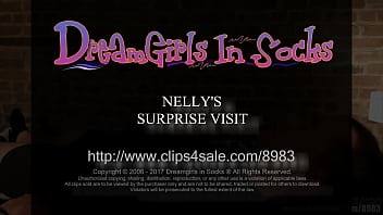 Nelly's Surprise Visit - (Dreamgirls In Socks)
