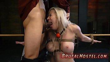 Brutal bdsm and sock gag bondage Don'_t worry slut, there just so