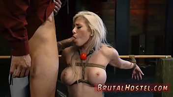 Brutal bdsm and sock gag bondage Don't worry slut, there just so