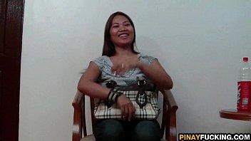 Naked asian white - Filipina amateur meets and fucks a stranger
