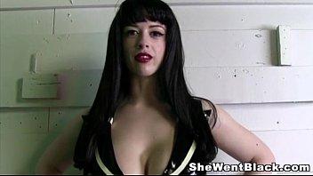 Big Tit Larkin Love ridicules her Cuckold while Fucking a Black Cock