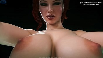 City of Broken Dreamers | Redhead secretary with a very hot body and big boobs gorgeous sex with a cumshot on her tits | My sexiest gameplay moments | Part #2
