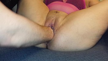 Fisting masturbation big toys huge pussy sexy slut