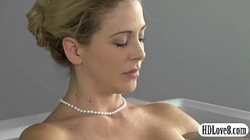 Glamour MILF Cherie Deville pussy banged by her handsome man