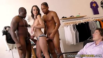 Black Cock Slut Jade Nile Motivates Her Employee