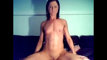 Fit Chick Rides Cock Hard Until He Cums!