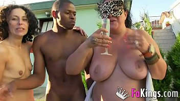 Married woman who love there marriage just need better sex She was tired of normal sex, so cuck husband arranged a threesome with a woman and a black dude