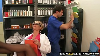 Slutty milf doctor (Phoenix Marie) takes any dick any time - BRAZZERS