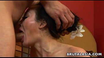 Milf ang young - Asian milf getting her ass hole ravaged