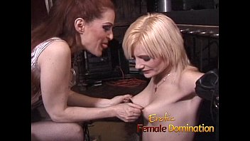 Sexy blonde will do anything to make her mistress happy-6