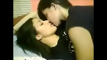 Two Girls Enjoy In Girls Hostel