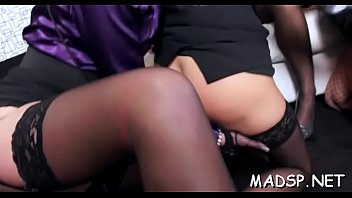 Alluring harlots enjoy a monster 10-pounder feast at a sex free-pussy-vids