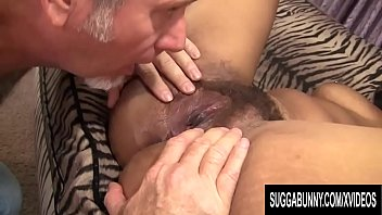 Hairy naked white guys - Hairy bushed ebony chick lila jordan fucks an older white guy until he pops