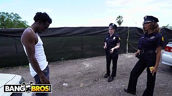 BANGBROS - Lucky Suspect Gets Tangled Up With Some Super Sexy Female Cops