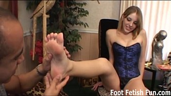 Foot sex in socks Get on your knees and lick my feet