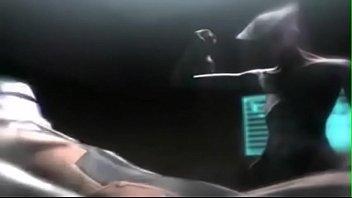3d big tits alien blowjob sex on a space station