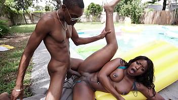 Black Milf Gets Fucked Hard - Ebony Porn