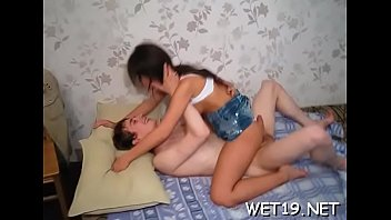 Submissive darling is delighting with dick riding and blowjob