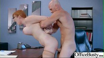 Big Round Tits Girl (Lauren Phillips) Enjoy Hard Intercorse In Office mov-16 Thumb