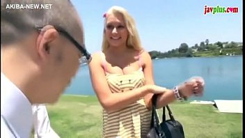 Hot blonde forced by 2 asian guys