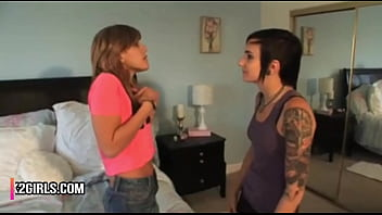 Lesbian Step Sisters Older Punk Rock Girl Forces Young Blonde anal emo step