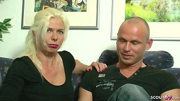 German Mom - Deutsche Mutter Fickt Mit Stief Sohn Und Seinem Freund