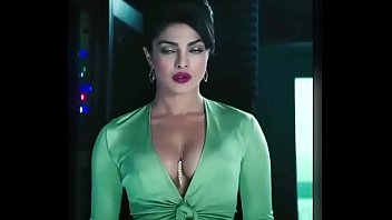 sexy Priyanka Chopra Hot Cleavage Scene in English Movie