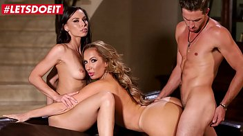 LETSDOEIT - #Richelle Ryan #Aidra Fox - Young Football Player Gets To Bang With A Busty MILF And Her Stepdaughter