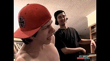 Gay roller skating Ian gets revenge for a beating