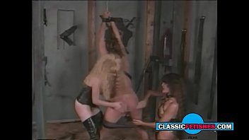 young guy spanked by two horny girl