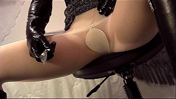 Shaved pantyhose sheer Closeup pantyhose ripping