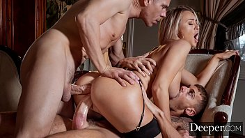 Deeper. Cheating Natalia gets DPed by hubby & lover