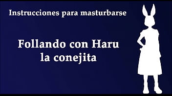 JOI hentai con Haru de Beastars. Con voz española. Estilo Furry.