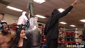 Karlee Grey Blows The Whole Boxing Club