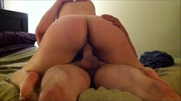 Wife orgasm husband Wife rides her husband to orgasm - creams his dick