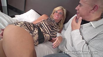 Horny older mature women Sexy blonde milf gets fucked by black cock in amateur interracial video