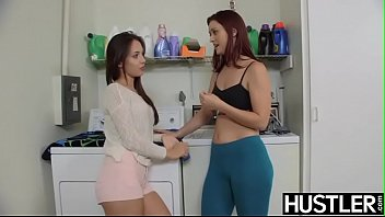 The hustler store hollywood - Amazing dyke karlie montana slobbers titties before oral sex