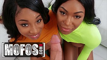 Girls With Big Butt (Lala Ivey, Nadia Jay) Loves Sharing Big Dick - Mofos