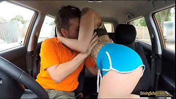 Alessa Savage pounded by her instructor