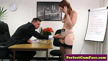 Adult movie job interview Candi blows job interview