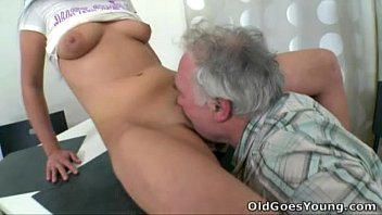 Old Goes Young - When Ami's boyfriend finds her fucking