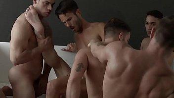 Hot Gay Group Bareback